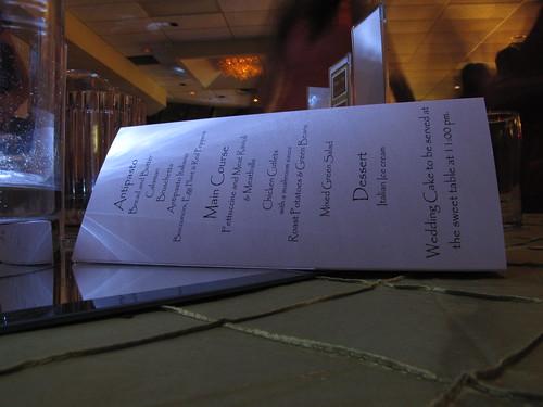 Marconi menu