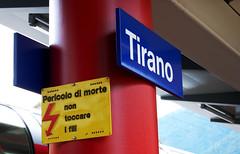 tirano (MiladyF) Tags: station train stazione valtellina tirano berninaexpress ferroviaretica