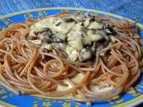 Cream and Mushroom Pasta Sauce