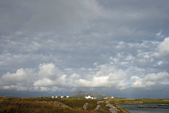 big sky over Ruabhal (34spider) Tags: sky clouds landscape evening loch moorland cairnisnorthuist ruabhalbenecula