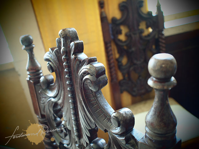 Vintage Chair detail at Carino House