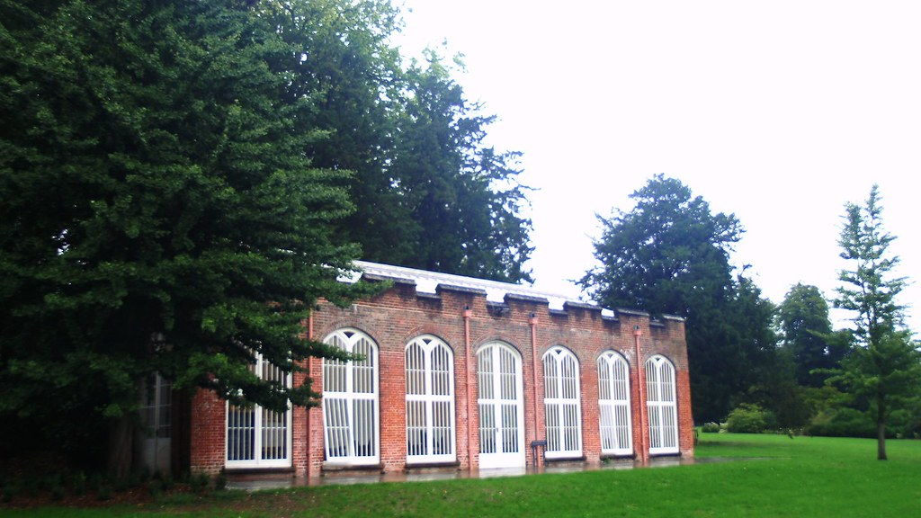 West Dean Garden room