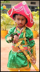 Tippu Sultan (trippingonlife) Tags: india children kid child contest independenceday fancydress tippusultan