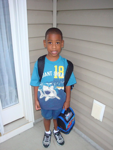 Cameron's 1st day of Kindergarten