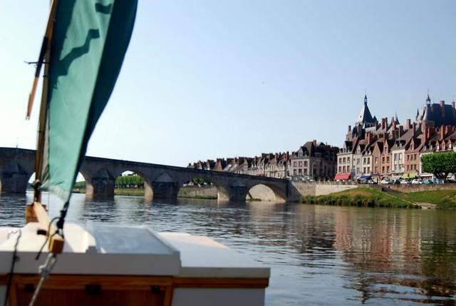 Loire river canoeing trip