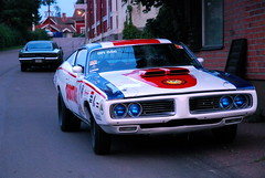 (MoStuff Sthlm) Tags: party black 1969 car race vintage drag 1971 stock 71 racing strip dodge after mopar 69 slot mags fest 1972 sthlm 72 charger sabbath sabotage mopars vikarbyn mostuff