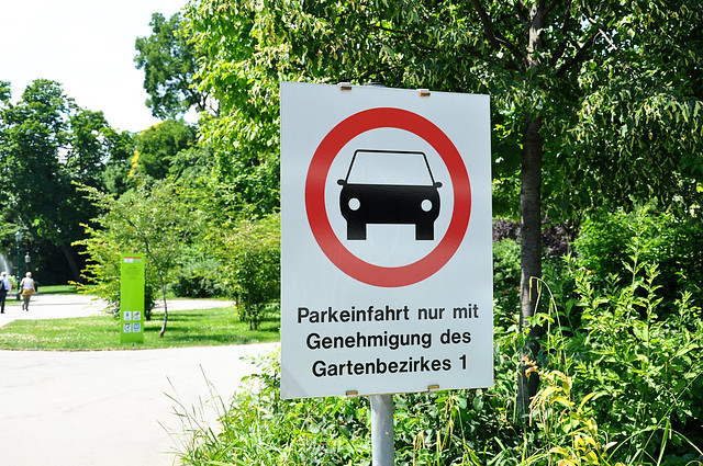 parkeinfahrt
