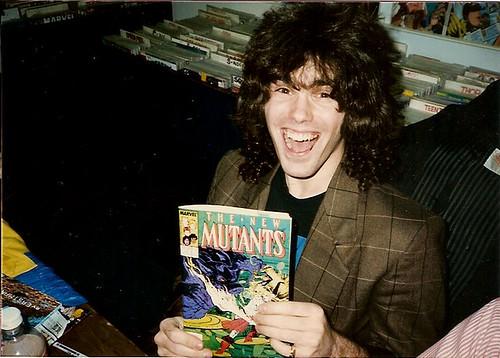 Ryan Brown @ TMNT  comic book store Summer signing  (( 1987 ))