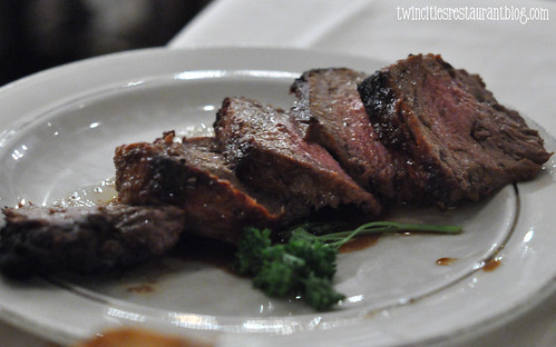 Silver Butterknife Steak ~ Murray's Restaurant