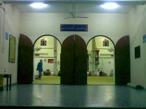 Main entrance to Masjid Al-Hasanah