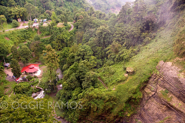 Lake-Sebu---Zipline-Drop-over-Falls-One