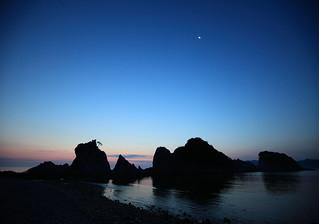Before Sunrise at Jodogahama *explored*