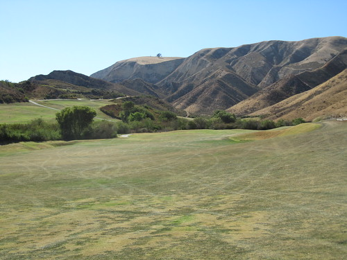 From the fairway at Lost Canyons Golf, Sky course, Simi Valley CA