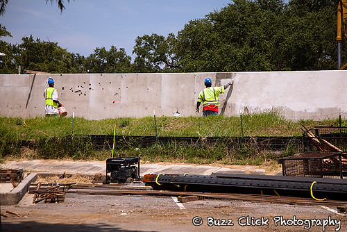 17th St. Canal new levee wall
