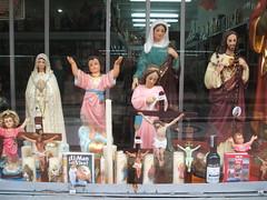 Roman Catholic statues in Bogota