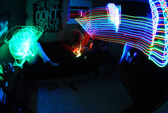 DMT (by Travis Harris.) Tags: longexposure colors night fun lights room drugs dmt