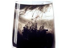 Ink's Vase (Irene Miranda) Tags: barcelona water lines ink video movement agua movimiento vase irene miranda tinta 2010 lneas jarrn