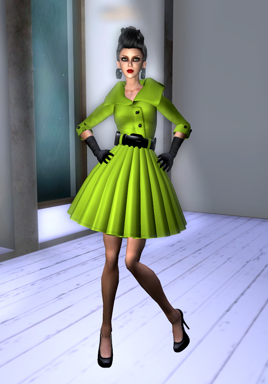 5 Linden Coat Dress