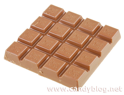 Ritter Sport Milk Chocolate with Strawberry Creme