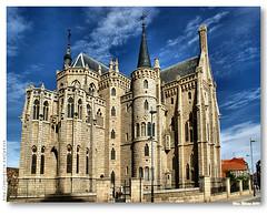 Palácio Episcopal de Astorga (vmribeiro.net) Tags: architecture spain arquitectura espanha palace gaudi gaudí episcopal palácio astorga