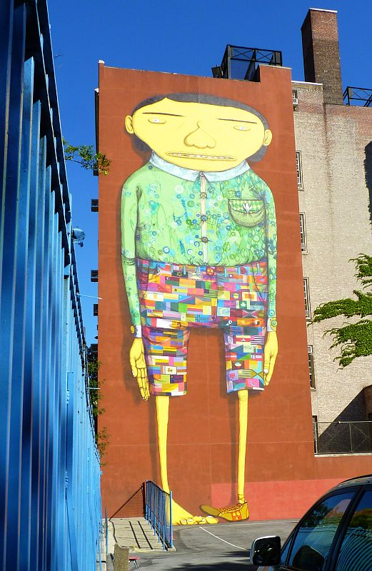 Giant Os Gemeos Boy