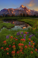 Jefferson Park Wilderness (kevin mcneal) Tags: summer oregon reflections spring cascades wildflowers centralcascades wildflowerseason kevinmcneal jeffersonparkwilderness