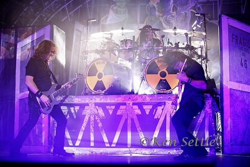 Megadeth - 08-19-10 - Joe Louis Arena, Detroit, MI