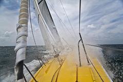 Le Pingouin Charging to Windward off the coast of Charleston SC (Dustin K. Ryan) Tags: le windward charging mybestshot pengouin mywinners mywinner anawesomeshot