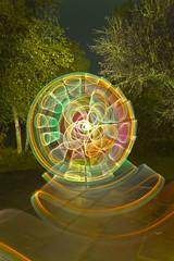 Maerdy faff (- Hob -) Tags: longexposure lightpainting wales raw cymry lapp singleexposure lightjunkies lightartperformancephotography wotididonmyhols