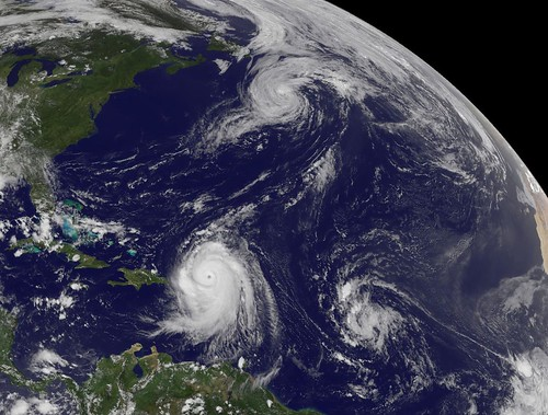 NASA Satellite Captures Hurricane Danielle, Hurricane Earl and Developing Tropical Depression 8