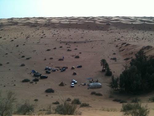 09科威特往沙烏地阿拉伯的沙漠去