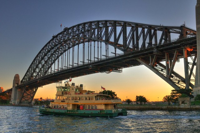 HDR - Sydney Harbour Bridge