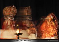 KATHAKALI - KEECHAKA VADHAM (DEEPU SG) Tags: kathakali sairandhri kalamandalamvijayakumar keechakan keechakavadham deepusg kalamandalamsoman