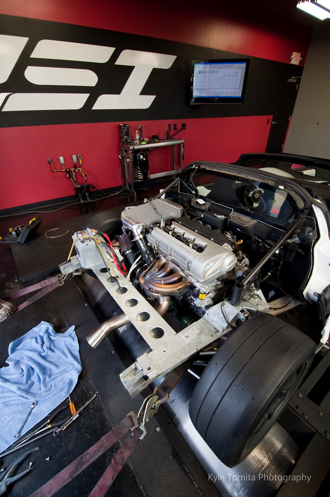Radium Engineering Turbo Lotus Elise on dyno at PSI