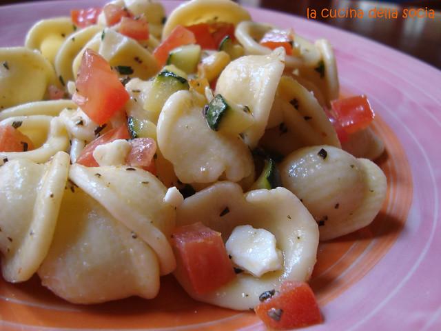pasta fredda zucchine
