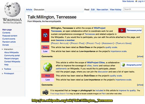 Talk:Millington, Tennessee - Wikipedia, the free encyclopedia