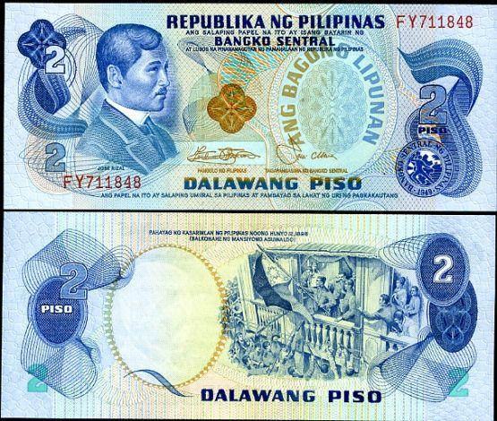 2 Piso Filipíny 1978, P159c
