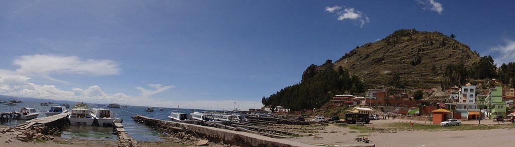 Copacabana at Lake Titicaca