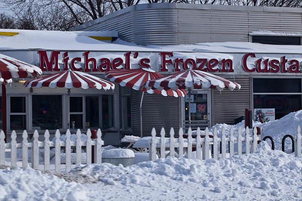 Frozen in Frozen Custard Land