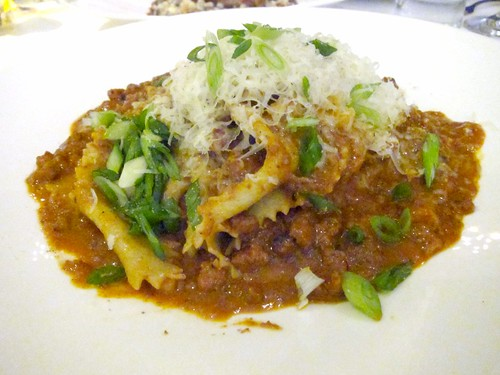Maltagliati with Pork Ragu
