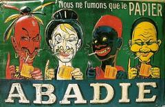 Abadie cigarrette paper (1904) (Susanlenox) Tags: france paper cigarette smoking cigars papier fumar francia plakat zigaretten fumons eugneog