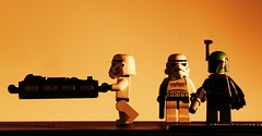 Bespin sunset (Blockaderunner) Tags: sunset star lego stormtrooper boba wars bespin fett carbonite