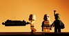 Bespin sunset (Blockaderunner) Tags: sunset star lego stormtrooper boba wars bespin fett carbonite