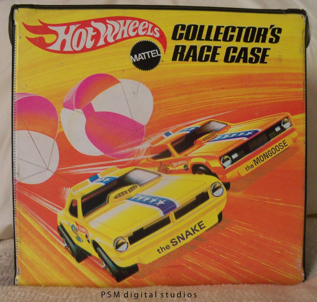 1969 Original Mattel Hot Wheels Collectors Case Back