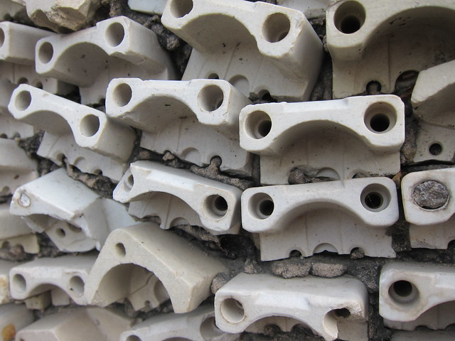 Plug wall close-up, Rock Garden