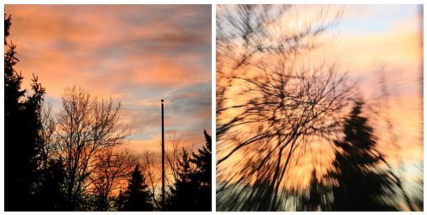 Thaw Sunset