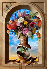 Still Life Niche, broken Bosschaert (kevsyd) Tags: stilllife niche manray flowerstilllife kevinbest dutchstilllife