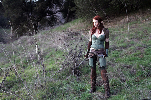 Felicia Day as Tallis in Dragon Age:Redemption