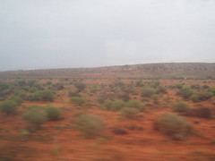 Approaching Tarcoola (Figgles1) Tags: railroad train gold mine pacific indian railway mines southaustralia dirtywindow throughthewindow 1890s indianpacific tarcoola p2070056