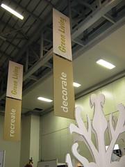 Home makers Expo _ X-Board trees and drop banners